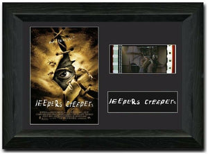 Jeepers Creepers 35mm Framed Film Cell Display
