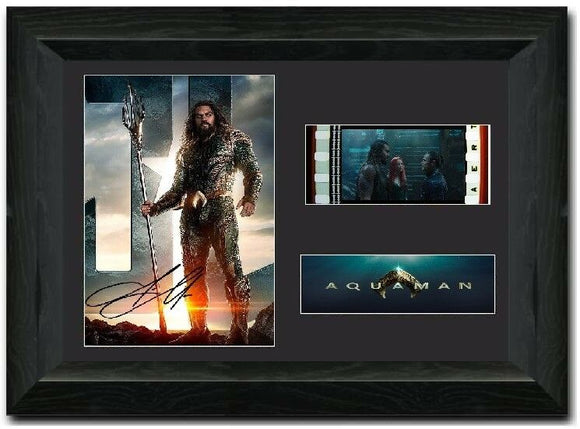 Aquaman S1 35mm Framed Film Cell Display