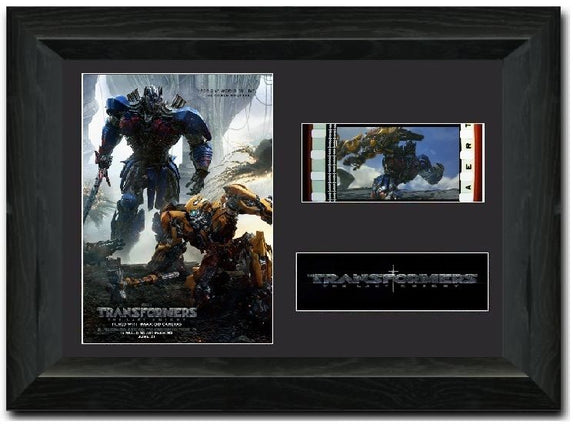 Transformers: The Last Knight 35mm Framed Film Cell Display