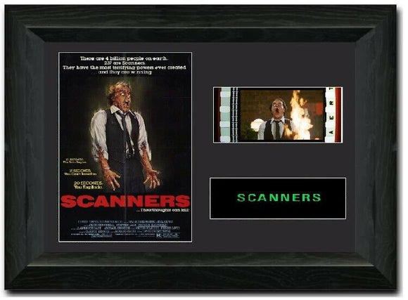 Scanners 35mm Framed Film Cell Display