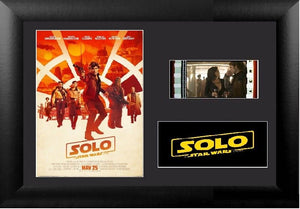 Solo: A Star Wars Story (2018) S2 35mm Framed Film Cell Display