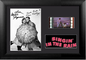 Singin' in the Rain (1952) 35mm Framed Film Cell Display Signed