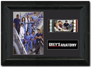 Grey's Anatomy S35mm Framed Film Cell Display