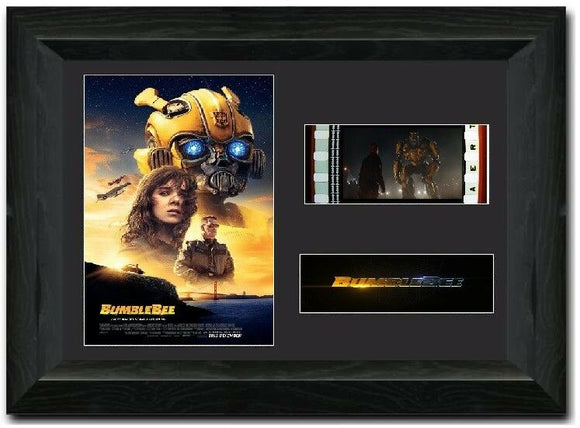 Bumblebee 35mm Framed Film Cell Display LIMITED EDITION