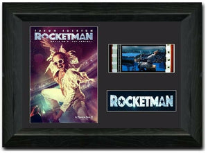Rocketman 35mm Framed Film Cell Display