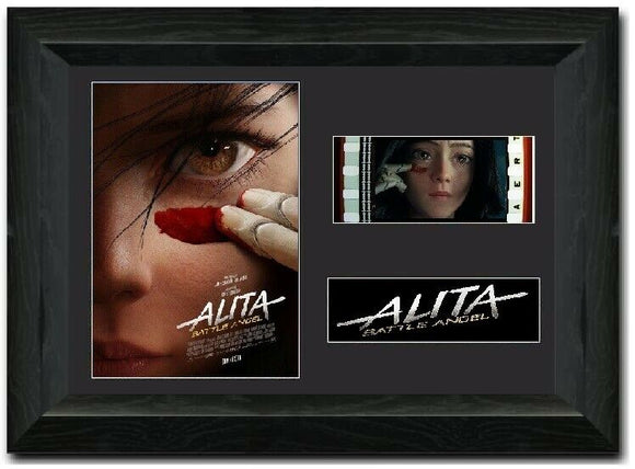 Alita: Battle Angel S3 35mm Framed Film Cell Display LIMITED EDITION
