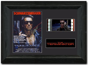 Terminator 35 mm 35mm Framed Film Cell Display