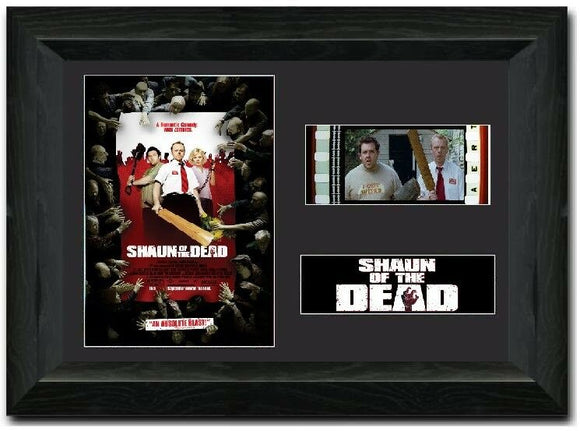 Shaun of the Dead 35mm Framed Film Cell Display