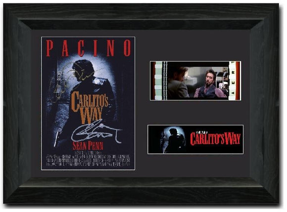 Carlito's Way 35mm Framed Film Cell Display