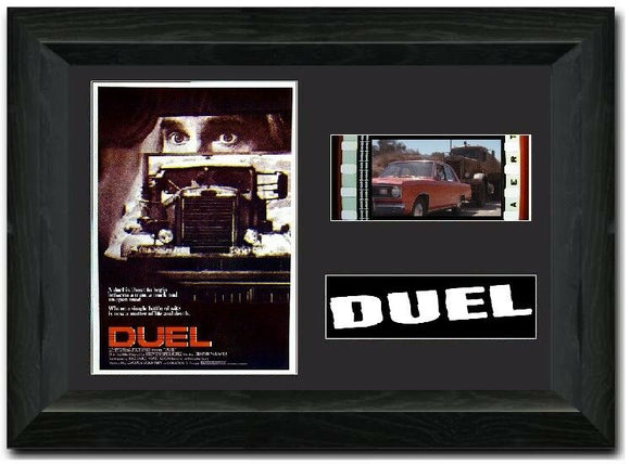 Duel 35mm Framed Film Cell Display