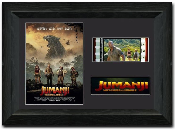 Jumanji Welcome to the Jungle 35mm Framed Film Cell Display