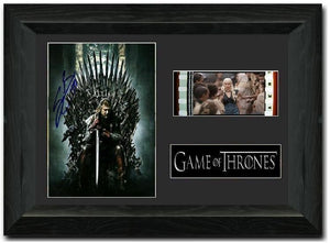 Game of Thrones S1 35mm Framed Film Cell Display Signed