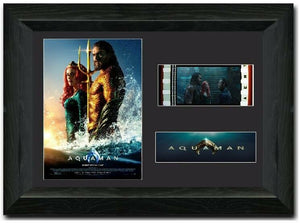 Aquaman S2 35mm Framed Film Cell Display LIMITED EDITION