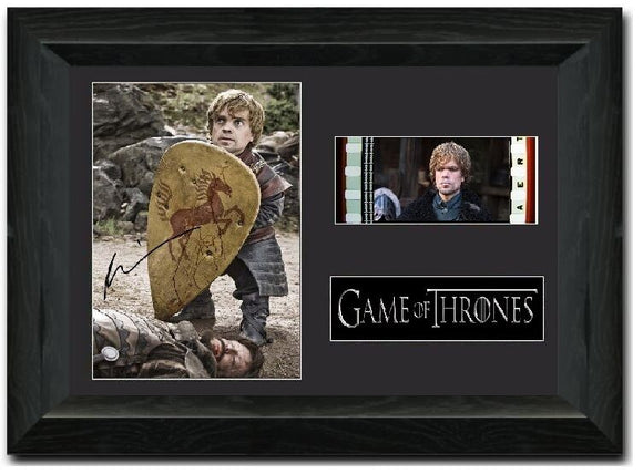 Game of Thrones S7 35mm Framed Film Cell Display Signed
