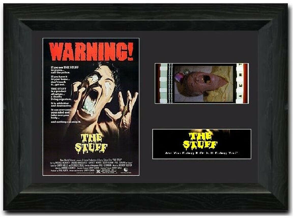 The Stuff 35mm Framed Film Cell Display