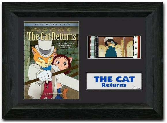 The Cat Returns 35mm Framed Film Cell Display