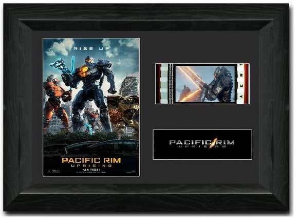 Pacific Rim Uprising 35mm Framed Film Cell Display