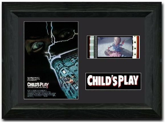 Child's Play 35mm Framed Film Cell Display