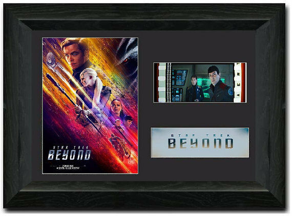 Star Trek Beyond 35mm Framed Film Cell Display
