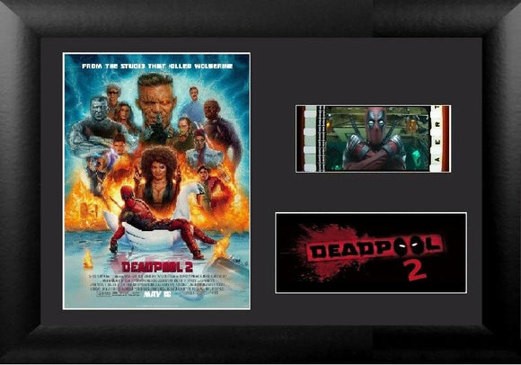 Deadpool 2 S2 35mm Framed Film Cell Display