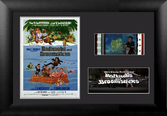 Bedknobs and Broomsticks 35mm Framed Film Cell Display
