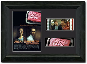 Fight Club 35mm Framed Film Cell Display