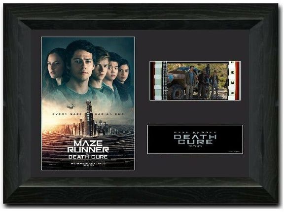 Maze Runner: The Death Cure 35mm Framed Film Cell Display