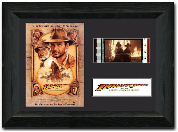 Indiana Jones and the Last Crusade 35mm Framed Film Cell Display