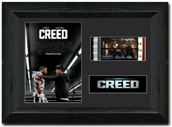 Creed 35mm Framed Film Cell Display