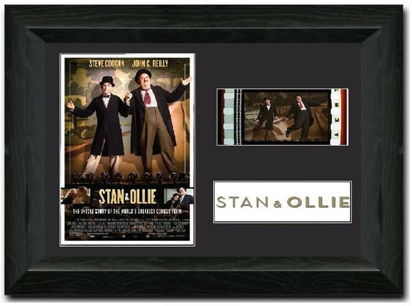 Stan & Ollie 35mm Framed Film Cell Display