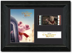 Christopher Robin 35mm Framed Film Cell Display