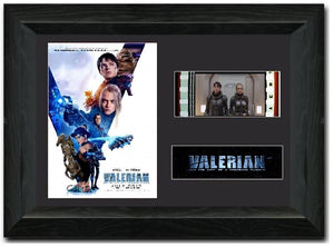 Valerian and the City of a Thousand Planets 35mm Framed Film Cell Display Signed
