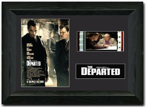 The Departed 35mm Framed Film Cell Display