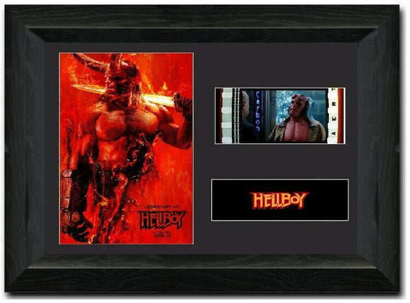 Hellboy S1 35mm Framed Film Cell Display