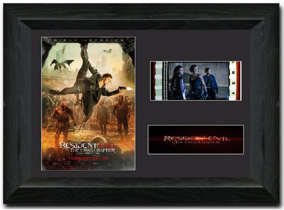 Resident Evil: The Final Chapter 35mm Framed Film Cell Display