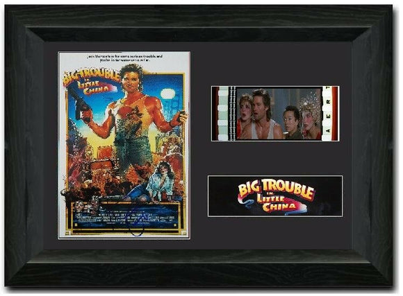 Big Trouble in Little China 35mm Framed Film Cell Display LIMITED EDITION