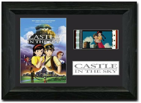 Laputa: Castle in the Sky 35mm Framed Film Cell Display
