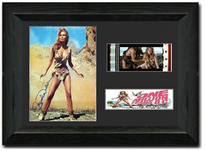 One Million Years B.C. 35mm Framed Film Cell Display Cast Signed