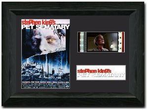 Pet Sematary 35mm Framed Film Cell Display Signed
