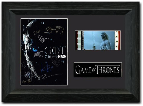 Game of Thrones S2 35mm Framed Film Cell Display Signed