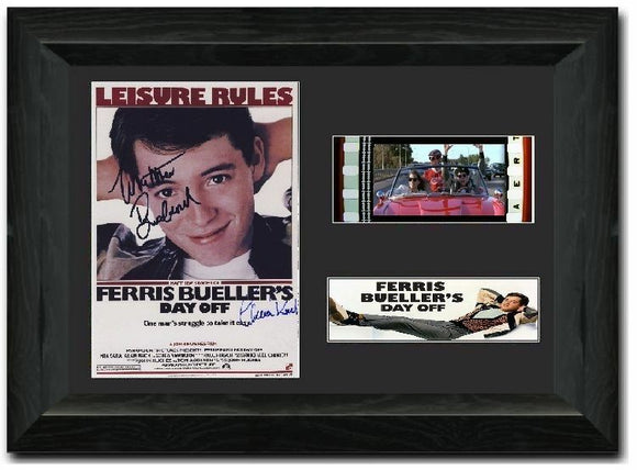 Ferris Bueller's Day Off 35mm Framed Film Cell Display