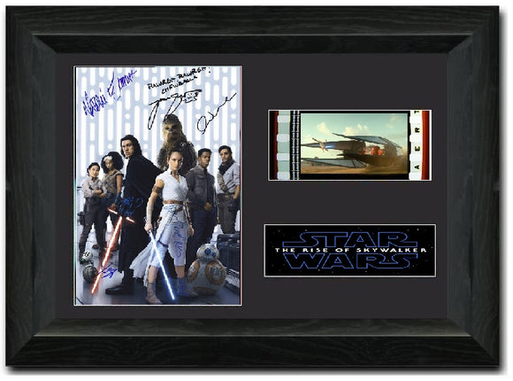 Star Wars: The Rise of Skywalker S1 35mm Framed Film Cell Display