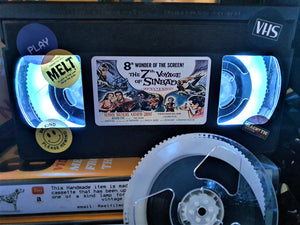 The 7th Voyage of Sinbad Retro VHS Lamp