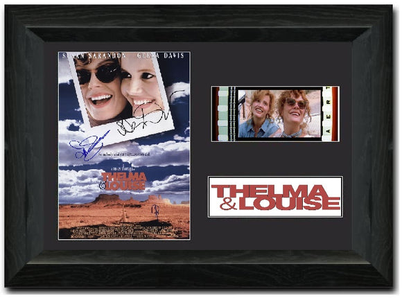 Thelma & Louise 35 mm Film cell Display Cast Signed Stunning