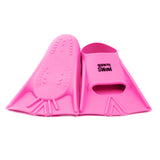 Junior Silicone Swim Fins HAPPY - Size 30-32