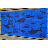 Shark School Microfiber Towel