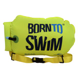 Green born to swim tow float