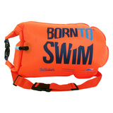 Orange swim secure bag