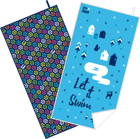 Holiday design towel