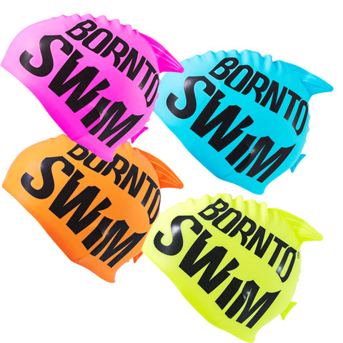 Junior Silicone Swim Cap - GUPPY
